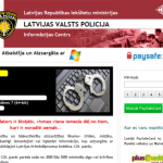 Latvijā strauji izplatījies izspiedējvīruss, kura uznirstošais logs satur tekstu samērā labā latviešu valodā, izmanto Latvijas policijas atribūtiku un nobloķē lietotāja datoru. Lielākai ticamībai tiek parādīta arī lietotāja IP adrese un […]