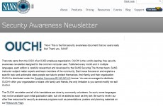 Kopš 2015.gada jūlija CERT.LV uzsāk SANS institūta ikmēneša ziņu lapas OUCH! tulkošanu un izplatīšanu.OUCH! ir viena no vadošajām informācijas tehnoloģiju […]